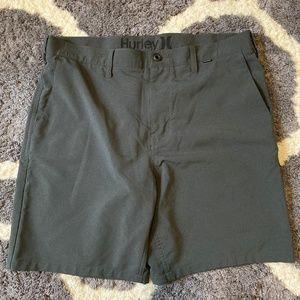 Hurley Nike Dri-Fit Gray Shorts - Men's 33